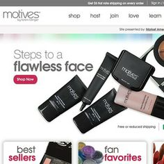 Motives by Loren Ridinger | Motives Cosmetics http://www.motivescosmetics.com/