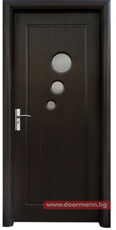 Интериорна врата - Код 017, Цвят Венге
