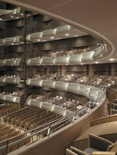 Four Seasons Centre for the Performing Arts, interior purpose built performance space