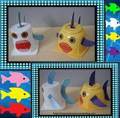 Aujourd'hui 1er avril voici les poissons des enfants