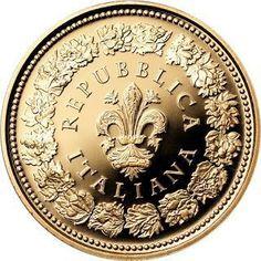 Italy 20 Euro Gold Coin 2013 Renaissance #GoldCoins #GoldInvesting