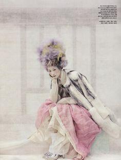 Powdery Flower for Vogue Korea Jan 2014 1