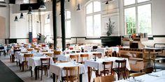 Cafe Restaurant Amsterdam / direkt neben der Westergasfabriek