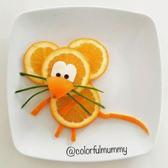 Little mouse is hungry, do you have any cheese? Little mouse is hung Food Art For Kids, Cooking With Kids, Cute Food Art, Children Food, Fruits Decoration, Deco Fruit, Fruits For Kids, Kids Fruit, Appetizers For Kids