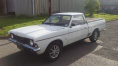 1976 FORD CORTINA MK3 PICKUP 2.5 V6 - NEVER WELDED