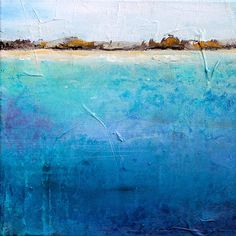 Off Shore by Karen Hale: Acrylic Painting available at www.artfulhome.com