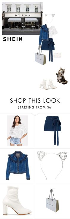 """Living Life"" by natyleygam ❤ liked on Polyvore featuring BYRON, J.W. Anderson, Rebecca Taylor, Charlotte Russe, MM6 Maison Margiela, Marc Jacobs and Chanel"