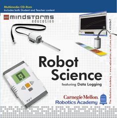 Mindstorm Education - Robot Science - Use LEGO Robots to teach scientific principles around speed, heat, sound, and color.
