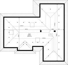 Projekt domu Willa Parterowa 2 135,75 m2 - koszt budowy - EXTRADOM Civil Construction, Bungalow, 3 Bedroom House, Planer, House Plans, Floor Plans, How To Plan, Home Decor, Templates