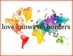 I love this so much! I'm a firm believer in interracial relationships because sees no color and knows no borders! Rose Hill Designs, Beau Message, Peace And Love, My Love, A Course In Miracles, We Are The World, Travel Quotes, Me Quotes, Qoutes