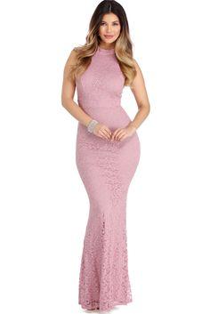 Marcia Mauve Sweet Romance Dress