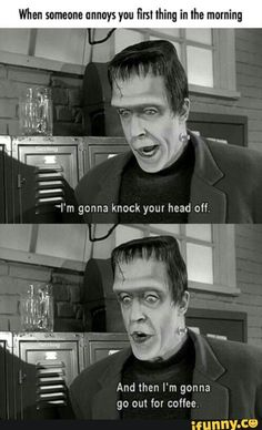 Repininly for the Munsters