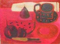 Mary Fedden   Still Life with Watermelon