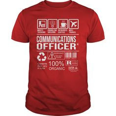 Awesome Tee For Communications Officer T-Shirts, Hoodies. SHOPPING NOW ==►…