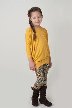 Kids DolmanTunics 12 colors - Sizes 4-14 | Jane