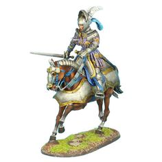 First-Legion-REN035-French-Mounted-Knight-with-Sword-1