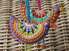 Crochet birdies