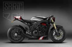 Triumph Speed Triple concept by Spirit Of The Seventies  ST3-N