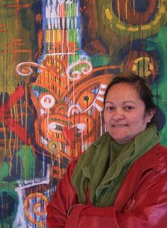 Tawera Tahuri Acrylic on loose canvas. Nz Art, Maori Art, Global Art, New Zealand, Studios, Design Inspiration, Portraits, Culture, Models