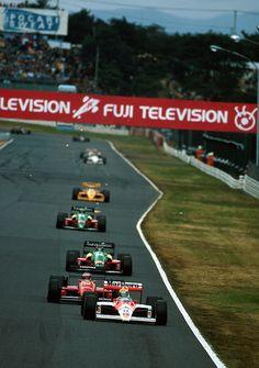 F1 GP Japan in Suzuka 1988 Ayrton Senna on McLaren