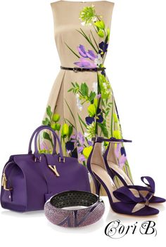 """Purple Tan"" by cori-black ❤ liked on Polyvore"