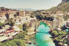 Been- Mostar, Bosnia Herzegovina Places Around The World, Oh The Places You'll Go, Places To Visit, Around The Worlds, Amazing Places, Wonderful Places, Mostar Bosnia, Backpack Through Europe, I Want To Travel