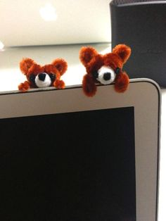 Bear brothers by pipe cleaner