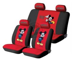 red 10PCS Disney Mickey Mouse figure UNIVERSAL auto FRONT & REAR CAR SEAT COVERS CAR ACCESSORY Front Seat Back Rear Seat Cover by newnews, http://www.amazon.com/dp/B00BFJDLLU/ref=cm_sw_r_pi_dp_blrDrb0N5GXVY