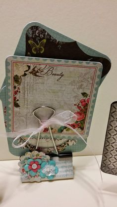 """For Swap at """"The Craft Hole"""" on Facebook.   It's been awhile since I've done any crafting, but now that we're finally back in our   own hom..."""
