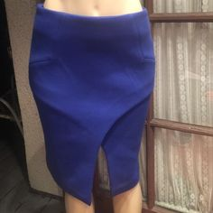 "Finders Keepers blue skirt sz small NWT Blue ""mistaken for a vision"" skirt Finders Keepers Skirts Asymmetrical"