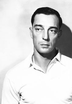Buster Keaton (1895-1966) - American comic actor, filmmaker, producer and writer.