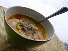Zupy jarzynowe z kaszą jaglaną na ostrą nutę - 3 wersje