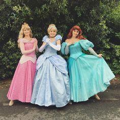 Aurora Cinderella Ariel