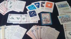 Así de bonitas han quedado las cartas de #Ryuutama
