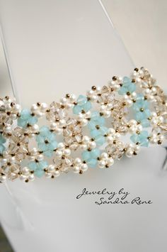 beaded lace bracelet - Google претрага