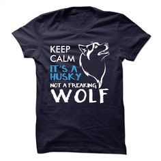 Keep clam, its a husky T Shirts, Hoodies, Sweatshirts - #shirtless #tee times. GET YOURS => https://www.sunfrog.com/LifeStyle/Keep-clam-its-a-husky.html?60505