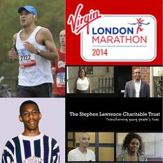 Marcus Ryder is running his 7th marathon on Sunday in the Virgin London Marathon for the Stephen Lawrence Charitable Trust, Support Marcus by donating at www.justgiving.com/MarcusRyder #RememberStephen #TransformingLives #Opportunities #AspiringArchitect