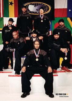 Wu Tang  so many great rappers, 90's rap was the best