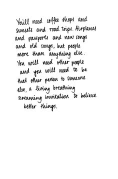 To Believe Better Things.