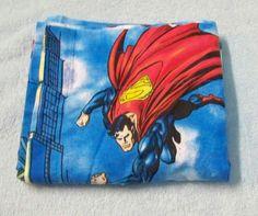 "#Superman Valance 16"" X 82"" Super Hero Daily Planet DC Comics Boys Bedroom Blue"