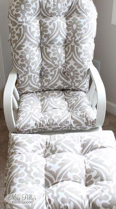 Items similar to Glider Cushions/Rocker Cushions/ Rocking Chair Cushions/ Glider Rocker Cushions on Etsy Glider Replacement Cushions, Glider Rocker Cushions, Rocking Chair Cushions, Seat Cushions, Bed Pillows, Sit On Top, Custom Cushions, Vintage Nursery, Cushion Fabric