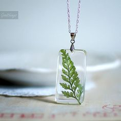 Hey, I found this really awesome Etsy listing at https://www.etsy.com/listing/72627591/fern-necklace-resin-jewelry-pressed-leaf