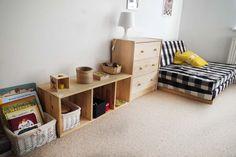 przechowywanie w pokoju małego dziecka Entryway, Bench, Storage, Furniture, Home Decor, Homemade Home Decor, Entrance, Larger, Main Door