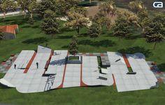 Skatepark Design and Construction Portfolio - California Skateparks California Skateparks, Backyard Skatepark, Picnic Blanket, Outdoor Blanket, Ao Nang, Richmond Hill, Skate Park, Images Gif, Logo Design