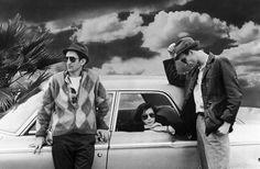 "Still image from Jim Jarmusch's ""Stranger than Paradise"""
