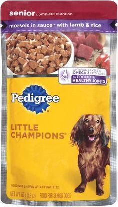 Best dog food brand for senior dogs
