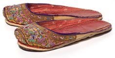 Peranakan Slipper  ... mmm ... used to get paid 50cents to sew beaded slippers ... should look up how some Peranakan slippers artwork and do the beadings again