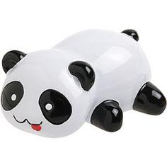 It's a pencil sharpener! Little Panda, Panda Love, Cute Panda, Panda Bear, Stationery Store, Cute Stationery, Cool Desk Accessories, Panda's Dream, Living In China