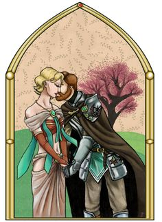 Obi-Wan / Satine - Korejanai! by TiffanyEtch-A-Sketch.deviantart.com on @deviantART. Aaaawwwwwww