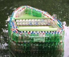Recycling of plastic bottles can save money on home decorations and tools